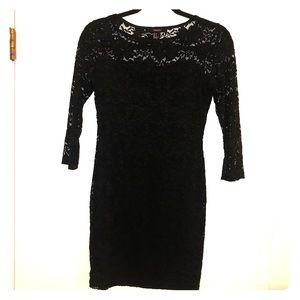Lacey Little Black Dress